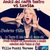 Debora Villa for Unicef a Ville Ponti Varese