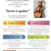 "Serom in quatter..Tributo al Cabaret Milanese ""Nanni Svampa"""