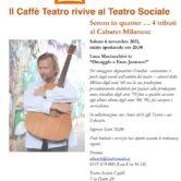"Serom in quatter…Tributo al Cabaret Milanese ""Enzo Jannacci"""